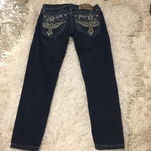 Miss Me Signature Skinny Crop jeans Gold Label